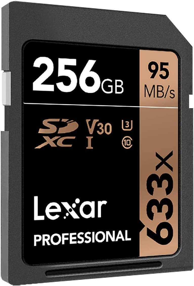 Lexar Professional 633x 64GB SDXC UHS-I Card (LSD64GCB1NL633): Computers & Accessories