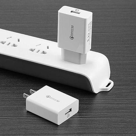 Cargador USB 18 W 5 V 3 A Quick Charger Dual QC 3.0 USB ...