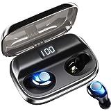 【令和モデル LEDディスプレイ Bluetooth イヤホン 】 ワイヤレスイヤホン 独立オン/オフ イヤホン 電池残量インジケーター付き 280時間連続駆動 イヤホン Hi-Fi 高音質 AAC対応 最新bluetooth 5.0+EDR搭載 完全ワイヤレスイヤホン 左右分離型 自動ペアリング Siri対応 / IPX7防水 / iPhone & Android対応