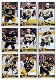 2016-17 O-Pee-Chee Hockey Boston Bruins Team Set of 18 Cards in Protective Snap Case: Brett Connolly(#19), Colin Miller(#69), Brad Marchand(#84), David Krejci(#97), Adam McQuaid(#120), John-Michael Liles(#154), Kevan Miller(#168), Ryan Spooner(#183), Loui Eriksson(#204), Patrice Bergeron(#223), Zdeno Chara(#245), Torey Krug(#256), Matt Beleskey(#337), Lee Stempniak(#360), Jimmy Hayes(#371), Tuukka