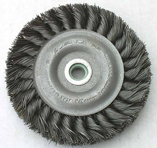 ire Brush Wheel 3 7/8 x 3/8-1/2 Die Grinder USA 10K RPM ()
