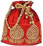Bombay Haat Ethnic Rajasthani Potli Bag / Potli Purse / Bridal Clutch/ Bridal Purse for Patry / Wedding / Wedding Gift
