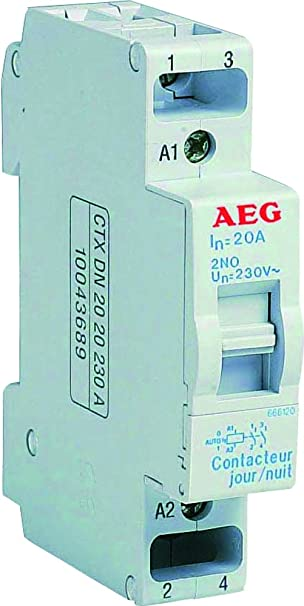 Aeg Aun666120 Contacteur Jour Nuit 20 A