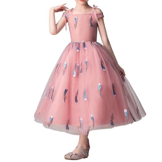Vestido Fiesta Niña Princesa Falda De Tul Niños Pasarela ...