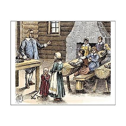new england 1600s