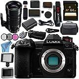 Panasonic Lumix DC- G9 DC-G9KBODY Mirrorless Micro Four Thirds Digital Camera Leica DG Vario-Elmar 100-400mm f/4-6.3 ASPH. POWER O.I.S. Lens DMW-BGG9 Battery Grip Bundle