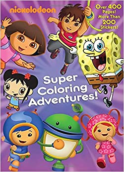 Super Coloring Adven Golden Books 9780307929914 Amazon