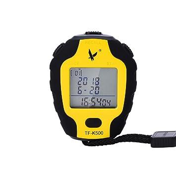 0940a5abd42e LEAP Cronómetro Digital Profesional 3 Filas 500 Memoria