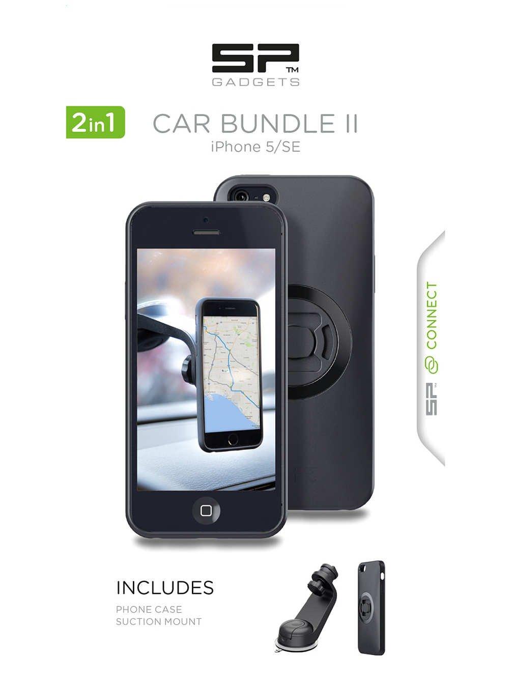 Car Bundle 5/SE - Car Phone Holder, Phone Case & Adaptors - SP Connect Sp Gadgets