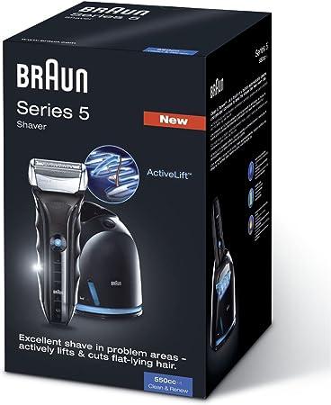 Braun - Afeitadora Series 5-550-4 cc con sistema de carga y ...