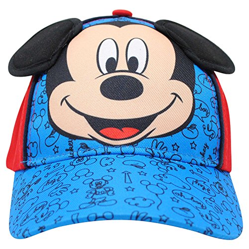 Accessory Supply Boys 3D 'Mickey Mouse' Adjustable Baseball (Mickey Mouse Baseball)