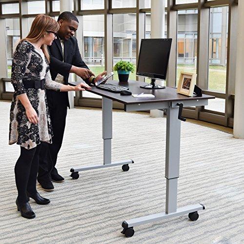 Luxor H Wilson Crank Adjustable Standup Desk The