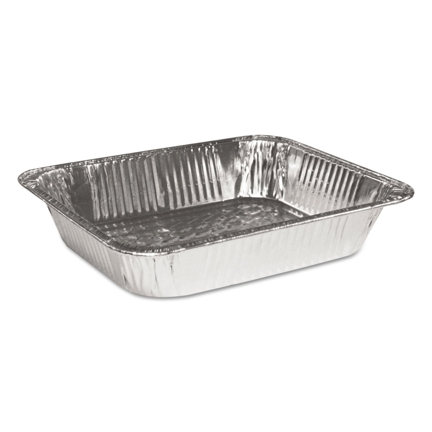 Foil Lids available, sold separatly Large Disposable Aluminium Foil Baking//Roasting Pan//Tray Gastronorm Box of 100 Half Size Deep 324 x 263 x 65