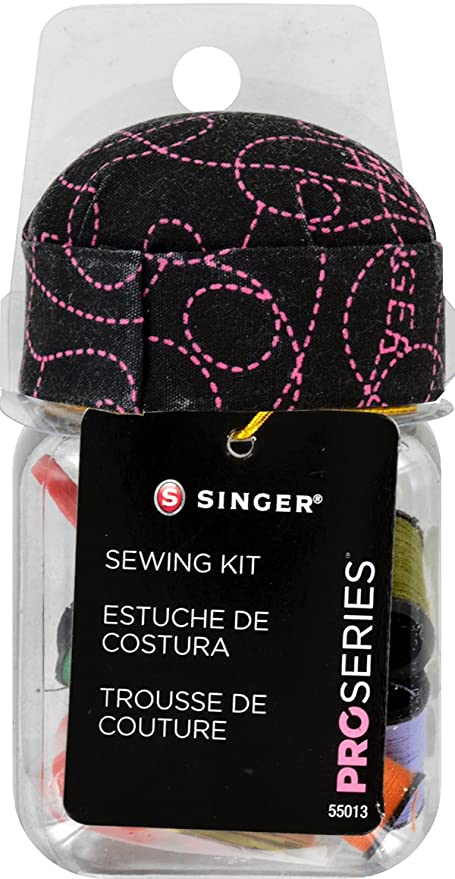 Amazon.com: Singer 55013 ProSeries Sew Kit in Jar Pin ...