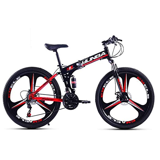 Gyj&mmm Bicicleta Plegable, Bicicleta de montaña Plegable, Marco ...