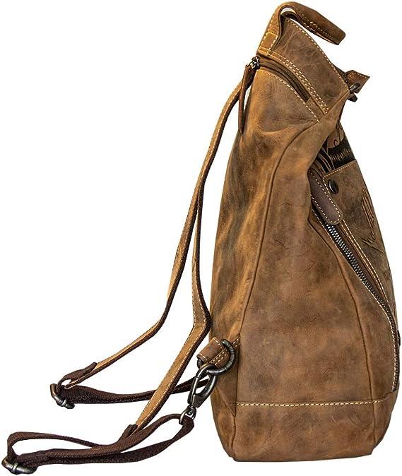 Jack S Inn 54 Schultertasche Rob Roy Rucksack Braun Koffer Rucksäcke Taschen