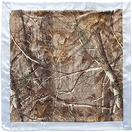 REALTREE AP CAMO CAMOUFLAGE HEAVY WEIGHT MICRO MINK to SHERPA THROW BLANKET