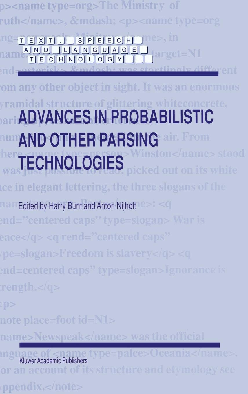 Advances in Probabilistic and Other Parsing
