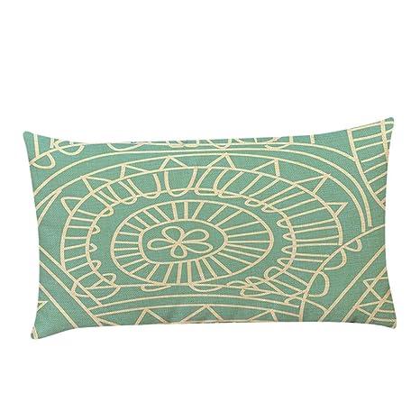Funda de almohada, neartime Rectángulo sofá cintura Throw ...