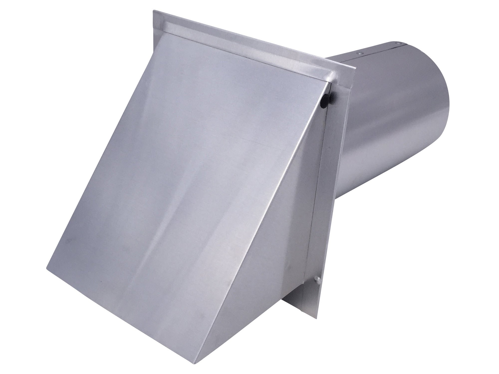 Dryer Wall Vent Aluminum (Standard 4 Inch Diameter Exhaust) - Vent Works