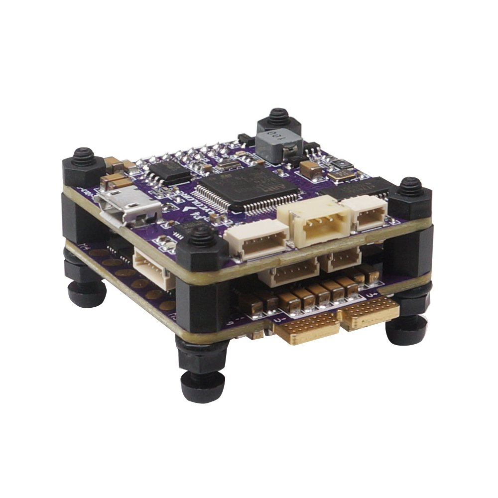 Flycolor S-Tower Omnibus F4 フライトコントローラー 4in1 40A BLHeli-S ESC+PDB+OSD 付 マイクロドローンレース用 B07BF3KX8Q