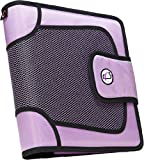 Case-it Velcro Closure 2-Inch Ring Binder with Tab File, Lavender (S-816-LAV)