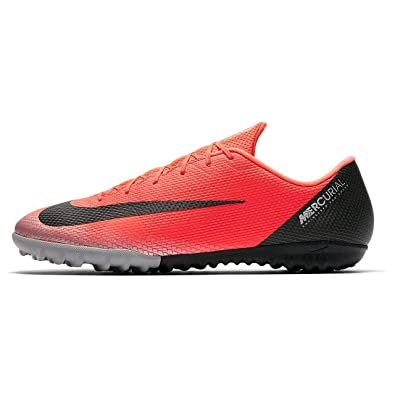 85ec1b4a62d Amazon.com | Nike Vapor 12 Academy CR7 TF Bright Crimson | Soccer