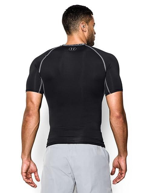 75e19ffe54752 Under Armour Men's HeatGear Armour Short Sleeve Compression T-Shirt