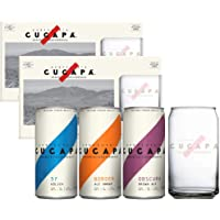 Cerveza Cucapá 4 Obscura + 4 Border + 4 Kolsch 269ml + 2 Vasos Oficiales
