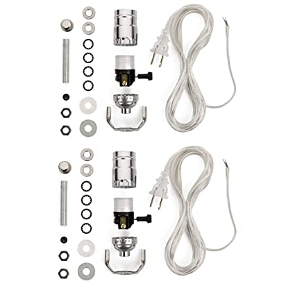 61ymTp WlL._SX425_ lamp wiring kit lamp making kits allow you to make, repair and