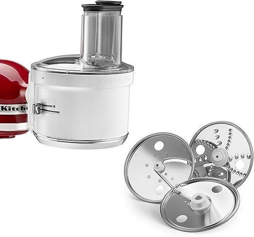 KitchenAid RKSM1FPA Food Processor Attachment (Renewed)