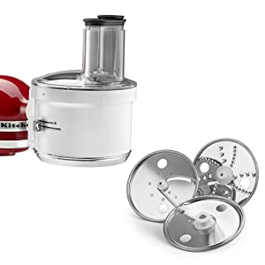KitchenAid RKSM1FPA Food Processor Attachment (Certified Refurbished)