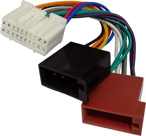 Aerzetix C11917 Adapter Kabel Radioadapter Für Originales Autoradio Stecker Iso Für Auto Auto