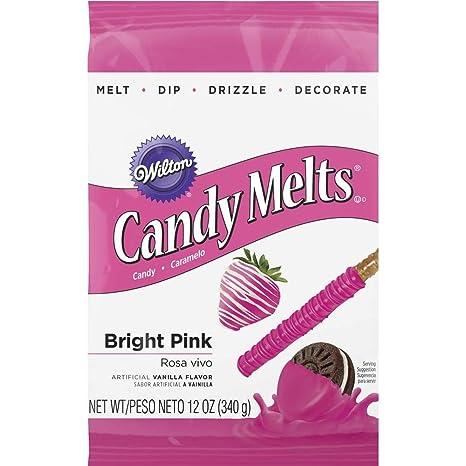 Candy Melts 12oz-Bright Pink