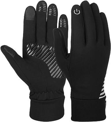 Guanti invernali guanti touch screen guanti sportivi guanti caldi antivento B089WBZ77N