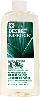 product image for Desert Essence Tea Tree Mouthwash W/Spearmint, 8-Ounce
