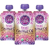 Coconut Karma Organic Coconut Oil in Portable Pouch, 2.76 oz., 3-pack)