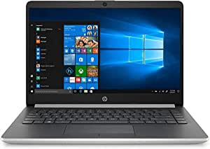 "(Renewed) HP 14 14"" Laptop Computer, AMD A4-9125, 4GB DDR4 RAM, 64GB eMMC, 802.11ac WiFi, Bluetooth 4.2, USB Type-C, Natural Silver, Online Class Ready, Webcam, Windows 10 in S Mode, SPMOR Mouse Pad"
