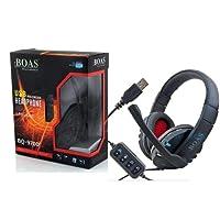 Fone De Ouvido Headset Gamer Usb p/ Pc Ps3 Ps4 Notebook Bq-9700