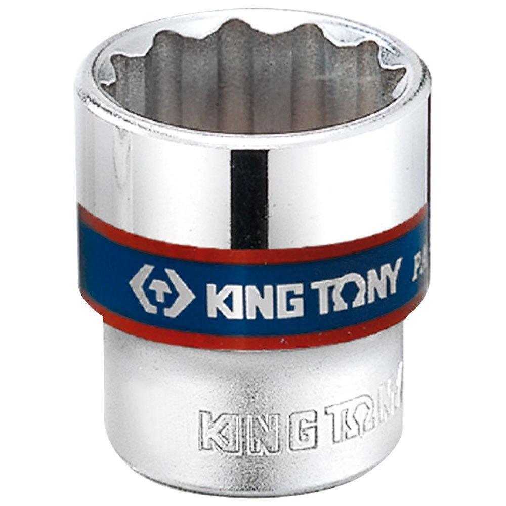 king tony 333017M Douille Mé trique 3/8' Standard, 17 mm