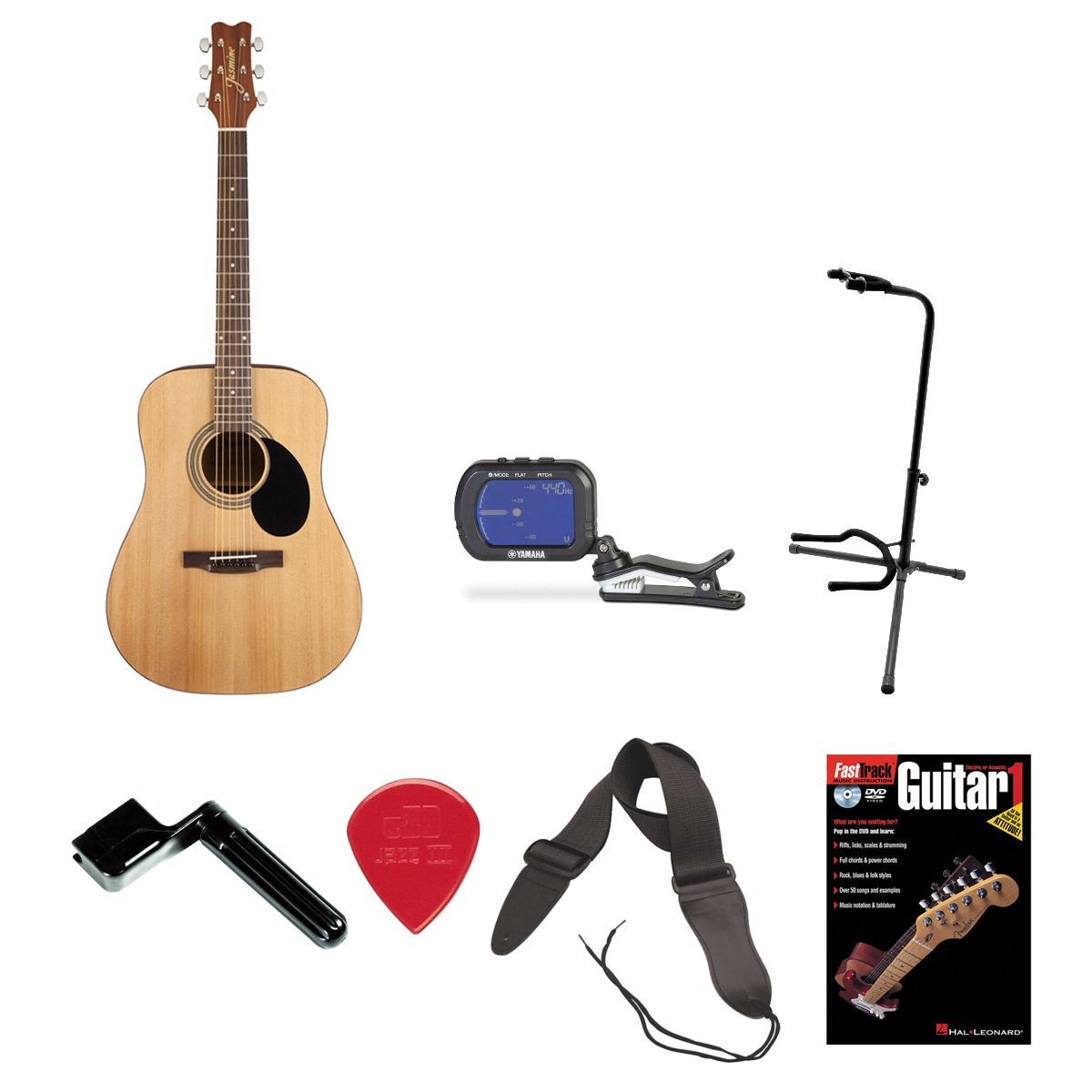 Jasmine S35 Dreadnought Acoustic Guitar With Gig Bag And Accessory