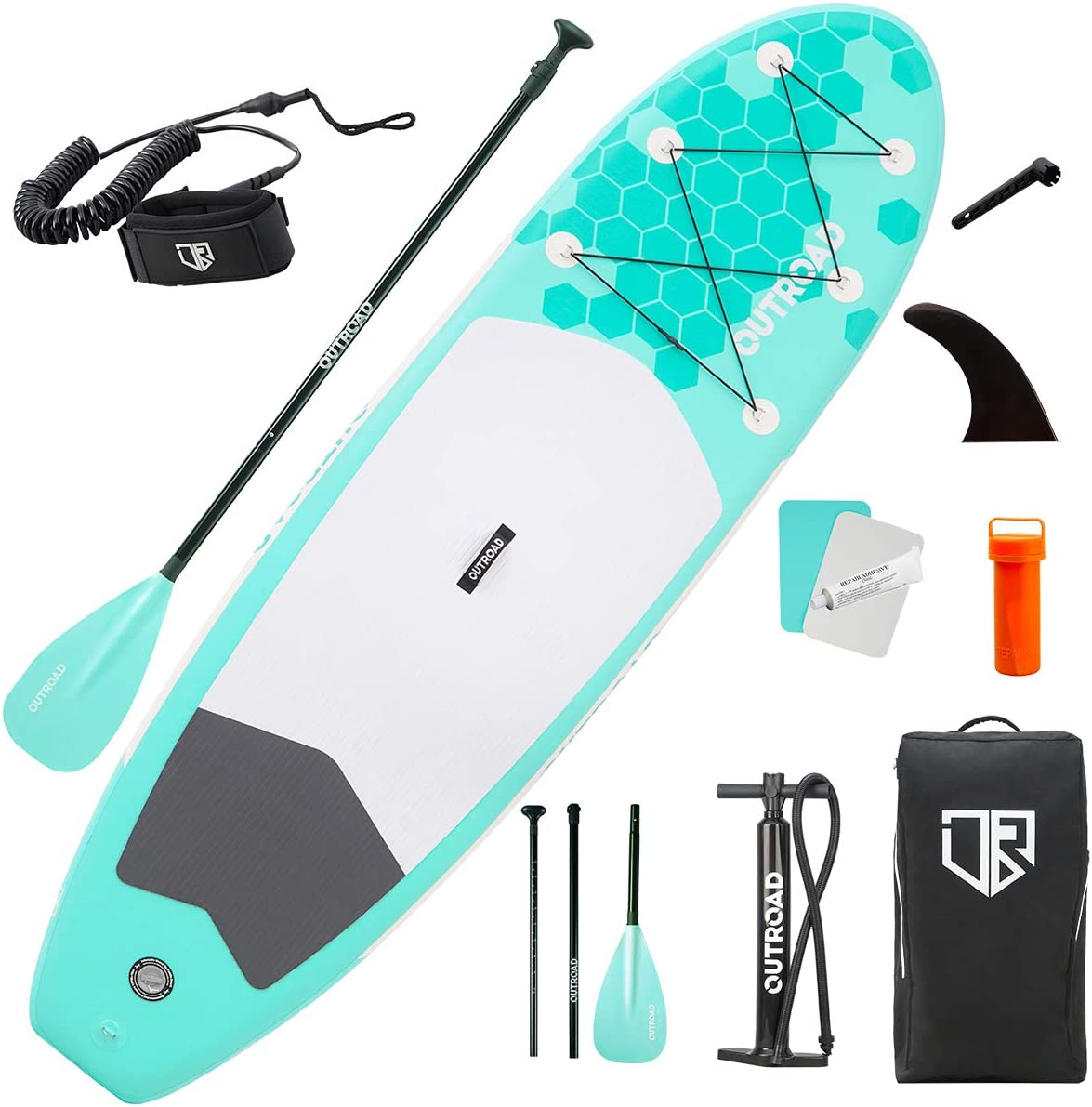 outroad inflatable paddle board