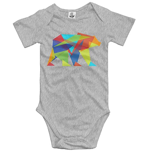7cffcd0e0820 Amazon.com  YUE-SKD-SK Creeper Jumpsuits Shop Fractal Geometric Bear ...