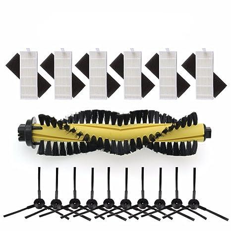 LICR Para ILIFE Robot Aspirador Piezas chuwi ilife a4 A4 T4 X432 X430 X431 Cepillo principal&Filtro