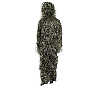 Dbtxwd Jungle Camuflaje Traje de Invisibilidad, Traje de ...
