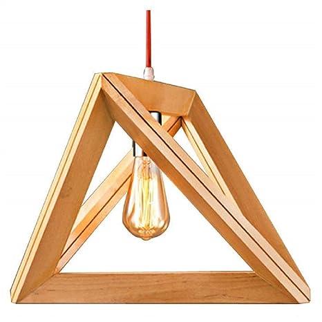 eylm lámpara colgante colgante de madera colgante lámpara de ...