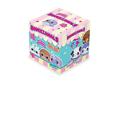 Squeezamals 2.5 Inch Squishable Boxed Scented Pets Series 1 Blind Box Stocking Stuffer Birthday Favor: Toys & Games