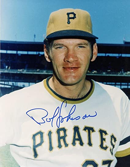 BOB JOHNSON PITTSBURGH PIRATES SIGNED AUTOGRAPHED 8X10 PHOTO W/COA at  Amazon's Sports Collectibles Store