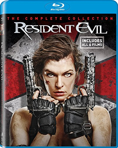 Resident Evil The Complete Collection [Blu-ray]