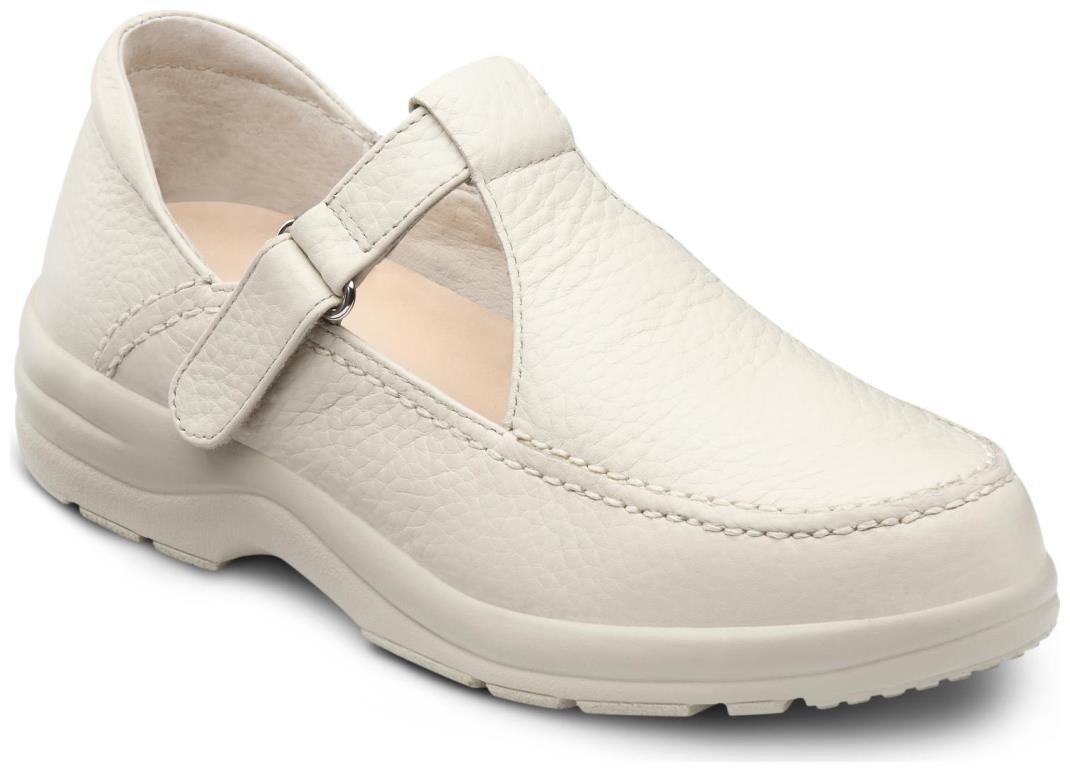 Dr. Comfort Lulu Women's Therapeutic Diabetic Extra Depth Shoe: Beige 9.5 Wide (C-D) Velcro